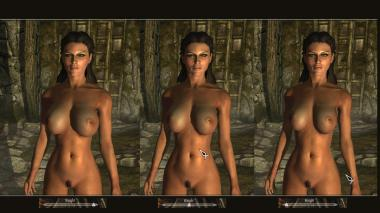 Calientes Female Body