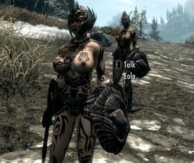Super Revealing Elven Armor for CBBEv2