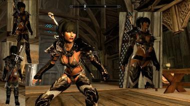 Very Sexy Ebony Armour