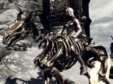 Skeleton Demonic Horse