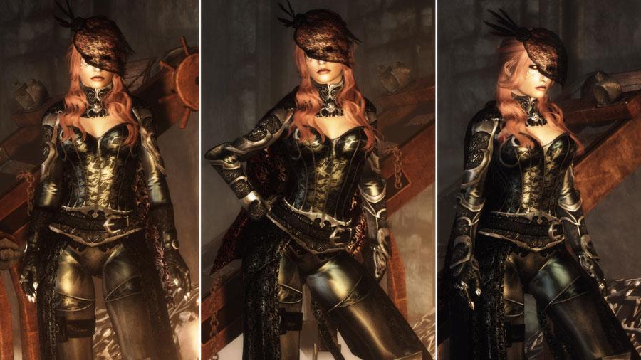 Скачать мод на скайрим вампирская броня
