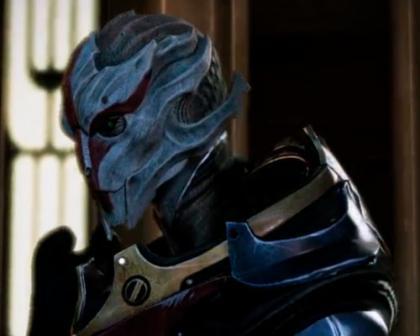Turiana из Mass Effect 3 Omega DLC