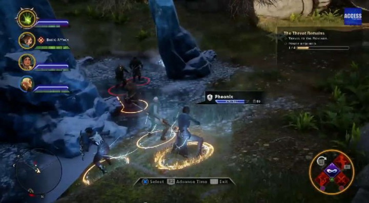 Dragon Age: Inquisition PS4 Gameplay